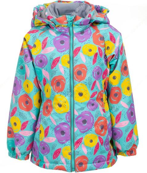 B25-01 зеленый Куртка дев. 104-128 по 5