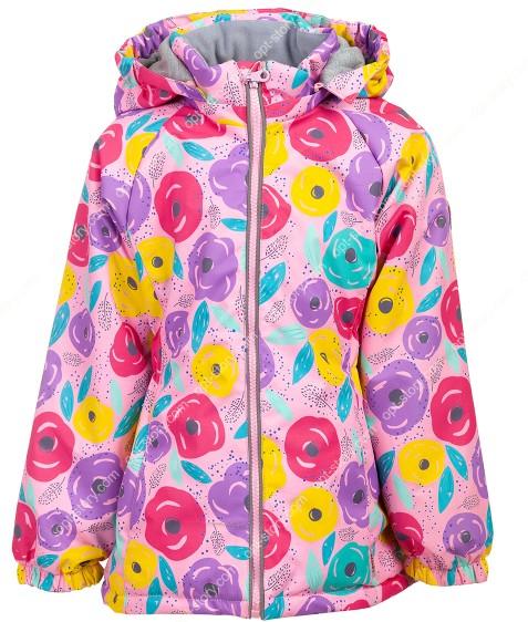B25-01 розовый Куртка дев. 104-128 по 5