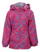 B25-02 красный Куртка дев. 104-128 по 5