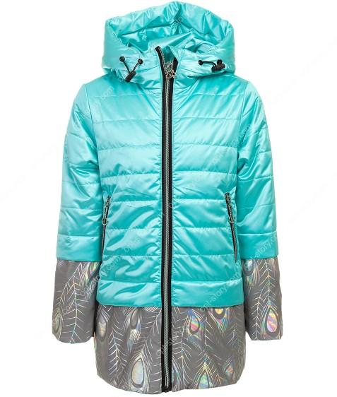 JB-001# зеленый Куртка дев. 86-110 по 5