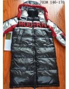 703 чёрный Пальто дев. 146-170