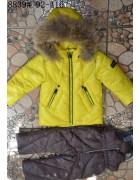 8839 жёлтый Комбинезон девочка  92-116