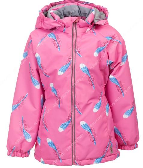 B25-05 розовый Куртка дев. 104-128 по 5