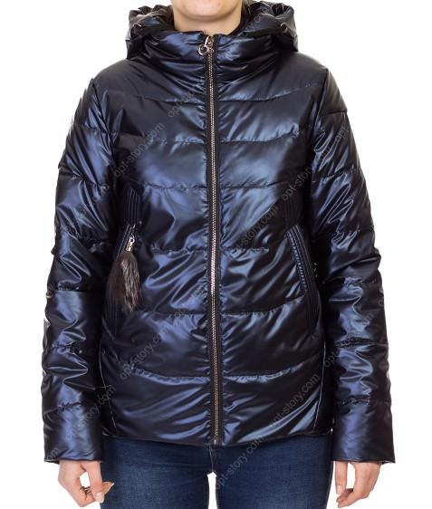881# т.син Куртка женская М-2XL по 4