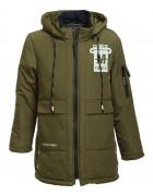 6692# зелен Куртка мальчик 134-158 по 5