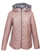 1072 пудра Куртка женская 3XL-7XL по 5