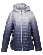 1073 син Куртка женская 3XL-7XL по 5