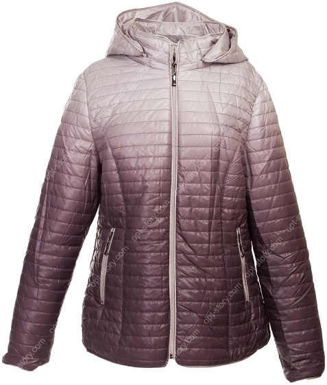 1073 сирень Куртка женская 3XL-7XL по 5