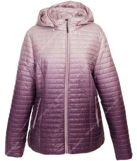 1073 фиолет Куртка женская 3XL-7XL по 5