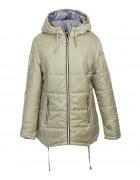 1075 зел Куртка женская 2XL-6XL по 5