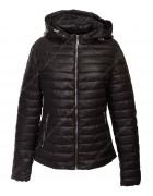 1077 чёрн Куртка женская 2XL-6XL по 5