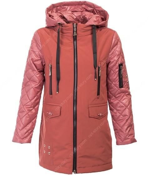 19T-063 кирпич Куртка девочка 128-158 по 6