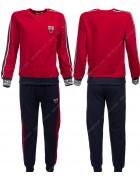 86762 красный Спортивный костюм мальчик 116-146 по 6