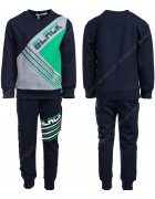 86761 зеленый Спортивный костюм мальчик 98-128 по 6