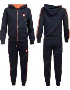 86756 оранж. Спортивный костюм мальчик 134-164 по 6
