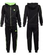 86756 зеленый Спортивный костюм мальчик 134-164 по 6
