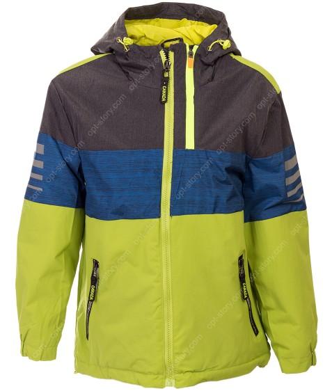 HV-902A зел Куртка мальчик 140-164 по 5