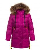 HM-1207 красный Куртка девочка 122-146
