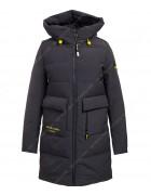 47384 т.серый Куртка женская S-3XL по 6