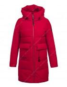 47381 красный Куртка женская S-3XL по 6