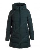 24288 изумруд Куртка женская (био-пух) L-5XL по 6