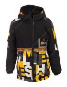 JK2039# желтый Куртка маль. 128-152 по 5