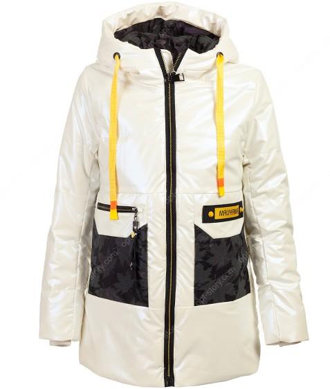 169# белый Куртка дев 134-158 по 5