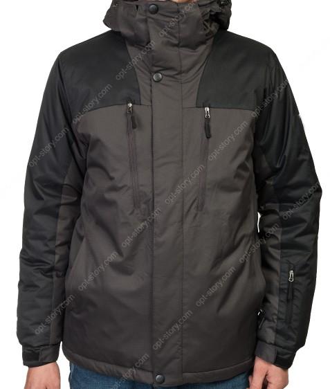 G-X869 dark grey black Куртка мужская M-3XL по 5