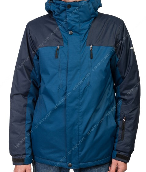 G-X869 oil blue purlish blue Куртка мужская M-3XL по 5