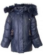 HL-612 т.син Куртка девочка  92-116 по 5