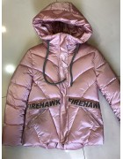 HL-623 роз. Куртка девочка  146-170 по 5