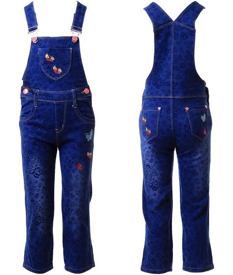 16235 Комбез джинсовый девочка 12-17 по 6 (15)