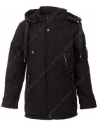 JKI-027 чёрн Куртка мальчик 128-152 по 5
